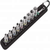 "WERA Belt 4 Zyklop socket set, 1/4"" drive"